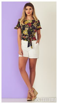 LOOKBOOK 5 – Cora Canela Cute Outfits With Shorts, Short Outfits, Classy Outfits, Short Dresses, Summer Outfits, Casual Outfits, Teen Fashion, Womens Fashion, Fashion Ideas