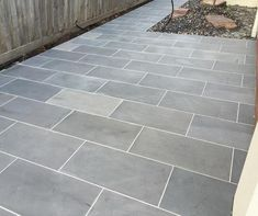 Surprising Blue Stone Pavers Your Residence Design: bluestone pavers blue stone pavers patio bluestone pavers for sale bluestone pavers dandenong blue stone pavers wholesale Stone Driveway, Paver Walkway, Driveway Pavers, Pool Pavers, Patio Slabs, Driveway Design, Stone Patio Designs, Small Patio Design, Garden Design