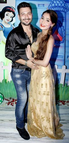 Beau Rishabh Tandon hosted a surprise birthday party for alleged ladylove Sara Khan. Pratyusha Banerjee, Shaleen Bhanot, Alan Kapoor, Ajaz Khan and other top Telly stars turned up for the celebrations Mumbai News, Tv Actors, Birthday Bash, Photoshoot, Indian, Bollywood Fashion, Stars, Celebrities, Party