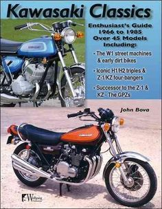 For anyone looking to buy a classic Kawasaki, or simply learn more about those hot bikes of yesteryear, this is an essential treasure trove of information.