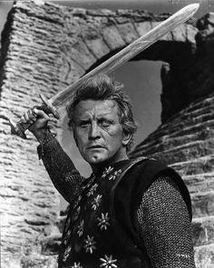 Still of Kirk Douglas in The Vikings