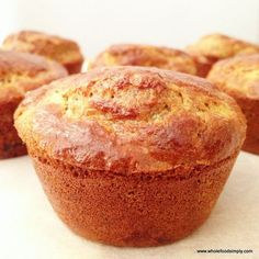 Date and Orange Muffins | Wholefood Simply | Bloglovin'