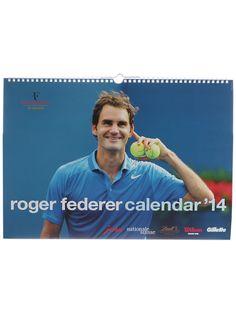 Roger Federer 2014 Calendar