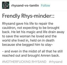 OH MY GOD RHYSAND WHY ARE YOU SO PERFECT YOU'RE MAKING IT INCREDIBLY DIFFICULT TO FIND SOMEONE WHO IS AT LEAST HALF AS EPFRCT AS YOU WHYYY ALSO I LOVE YOU