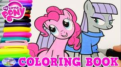 My Little Pony Coloring Book Pinkie Pie Maud Pie Episode Surprise Egg an...