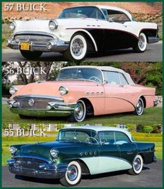 Vintage Cars, Antique Cars, Old American Cars, Buick Cars, 1955 Chevrolet, Old School Cars, Best Classic Cars, Car Advertising, Us Cars
