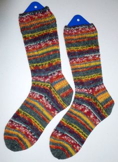 Hand Knit Mens or Womens Wool Socks Opal Sock Yarn by SocksGalore, $34.50