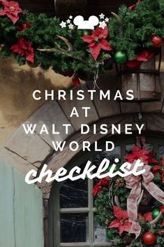 Need to know whats happening at Walt Disney World during the Christmas season? Here are the lists for all four parks, the disney resorts and disney springs. #disneyatchristmas #disneyduringtheholidays #disneytips