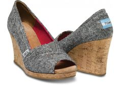 Silver Karsen Women's Wedges | A stunning wedge for all occasions.