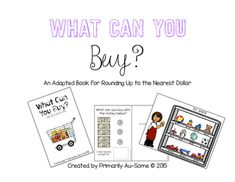 What Can You Buy? (An Adapted Book for Counting Money and Making Purchases)
