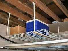 27 best garage wall and ceiling organization images garage rh pinterest com