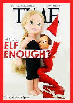 """One of favorite entries for the """"Inappropriate Elf"""" contest from Baby Rabies"""