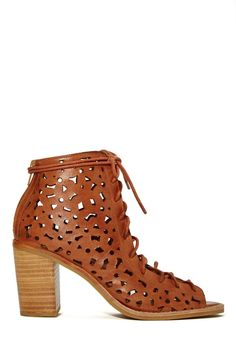 Jeffrey Campbell Cors Bootie - Tan | Shop Booties at Nasty Gal