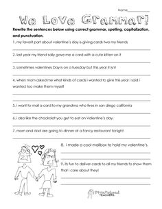 valentine 39 s day math worksheets math and school. Black Bedroom Furniture Sets. Home Design Ideas