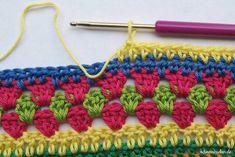 Teil 7 Reihe 9 crochet along - schoenstricken.de