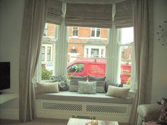 Victorian Terrace - Bay window seat