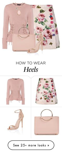 """Untitled #1829"" by dearunique on Polyvore featuring Dolce&Gabbana, Alexander McQueen, Future Glory Co., Chi Chi and Meira T"