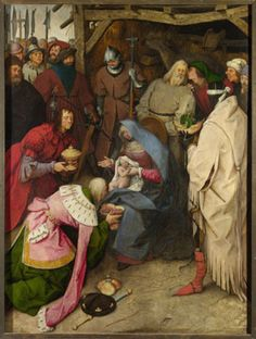 Renaissance Artist Pieter Bruegel The Elder Died In His Painting Adoration Of Kings Is An Unusual Rendering As Virgin Not