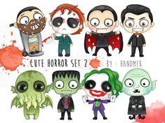 Halloween Drawings, Halloween Clipart, Halloween Ornaments, Halloween Party Decor, Halloween Crafts, Scary Drawings, Halloween Cookies, Cartoon Drawings, Halloween Costumes