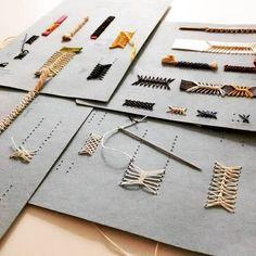 New book art binding ideas Ideas Handmade Notebook, Handmade Journals, Handmade Books, Handmade Rugs, Handmade Crafts, Diy Crafts, Handmade Headbands, Bookbinding Tutorial, Buch Design