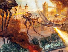 War of the Worlds by Tom Kidd