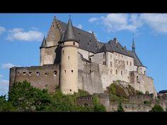 Ardennen von Luxembourg und Burg Vianden