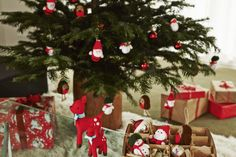 Almost time to trim that tree. Our handmade crochet Christmas decorations are the team's favourites this week | #CathKidston #CKSanta
