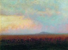 Сумерки в степи - Архип Куинджи. Twilight in steppe.