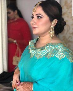 Embroidery Suits Punjabi, Embroidery Suits Design, Embroidery Fashion, Embroidery Dress, Punjabi Wedding Suit, Punjabi Suits Party Wear, Party Wear Indian Dresses, Indian Formal Wear, Designer Punjabi Suits Patiala