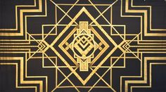 Art Deco Backdrop  photo booth background possibility?