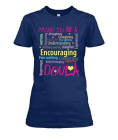 Proud To Be An Amazing Doula. Premium quality tees, tanks and hoodies from BadBananas. Flat rate shipping worldwide.