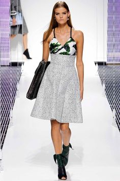 Christian Dior pre-spring/summer 2015 fashion collection