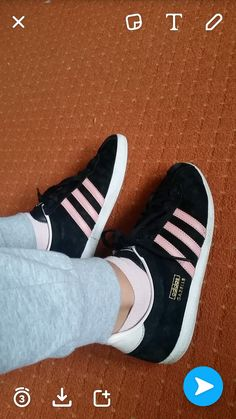 My new Shoes. #loveit #adidas #aidasgazelle