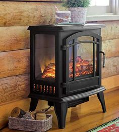 Add a touch of cozy warmth to any room in your home with our top picks for electric fireplaces! These cool fireplaces can be placed in nearly any room of your home, kitchen included!