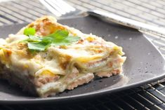 Lachs Lasagne mit Spinat | sunny7