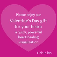 Celebrate and heal the most important love of all—your relationship with your heart. This free, quick audio visualization (just 3 minutes and 30 seconds long!) will help enhance your sense of self-love and fulfillment. You can listen on our blog page, and can also download the free MP3 to any device. #valentine #valentinesday #heart #selflove #selfhealing #love #loveheals
