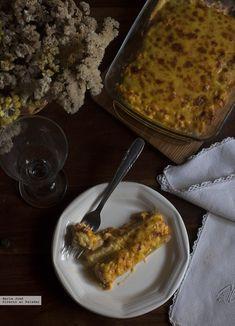 Espárragos rellenos de gambas y huevo duro: una receta original con la que conquistaréis a vuestros comensales Fish And Seafood, Recipe Collection, Relleno, Macaroni And Cheese, French Toast, Pie, Breakfast, Ethnic Recipes, Desserts