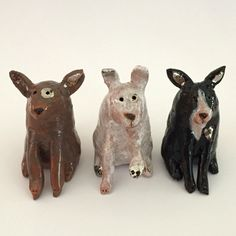 Mini #makeforgood puppy dogs by ceramic snippets