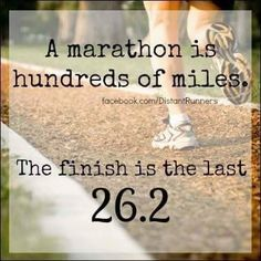 Moving Mountains Motivation: I signed up for my First Marathon Today