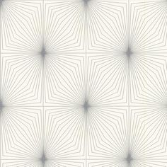 Contour - Dixie in Silver and White Wallpaper - 30-232 - Home Depot Canada
