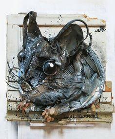 Граффити из мусора от Bordalo II (Интернет-журнал ETODAY)