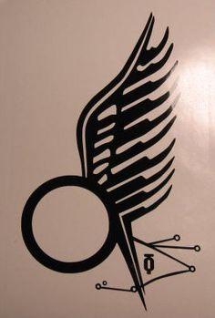 Battlestar Galactica Starbuck Love Tattoo Decal Sticker Cylon Sci-fi BSG. $6.99, via Etsy.
