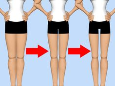 How to Get a Thigh Gap -- via wikiHow.com