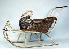 swan sled - Google Search