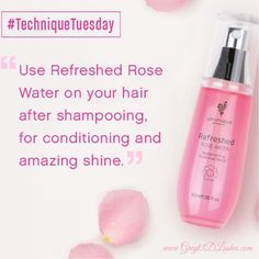 Tuesday Tips Refreshed Rose Water Browse, shop, book a party or join my Younique team HERE ➡️www.greyt3dlashes.com