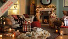 Traditional heritage christmas lounge