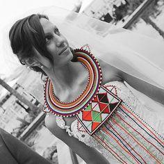 Maasai Princess Wedding Necklace