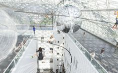 'In Orbit', spiderweb by Tomás Saraceno in Düsseldorf - Arquitectura Viva · Architecture magazines Net Architecture, Architecture Magazines, Structure Of The Universe, Different Kinds Of Art, Interactive Art, Design Blog, Store Design, Dark Matter, Museums