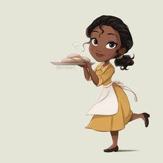 Frog Princess, Disney Princess Art, Disney Fan Art, Arte Disney, Disney Pixar, Disney Characters, Disney Princesses, Tiana, Disney Girls