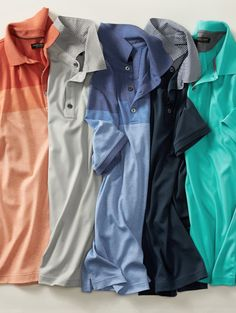 Stock up on our ultra soft cotton polos. With the variety of colors. This shirt will be a definite go to | Banana Republic